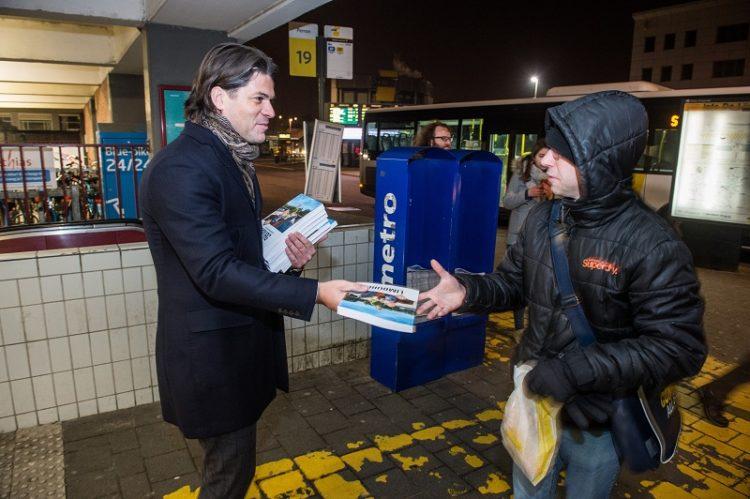 Actie: Toerisme Limburg Vakantiegids 2017 Igor Philtjens station Hasselt