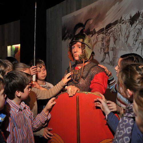 Spraakmakkers, lezingen voor kinderen in Gallo-Romeins museum, Tongeren