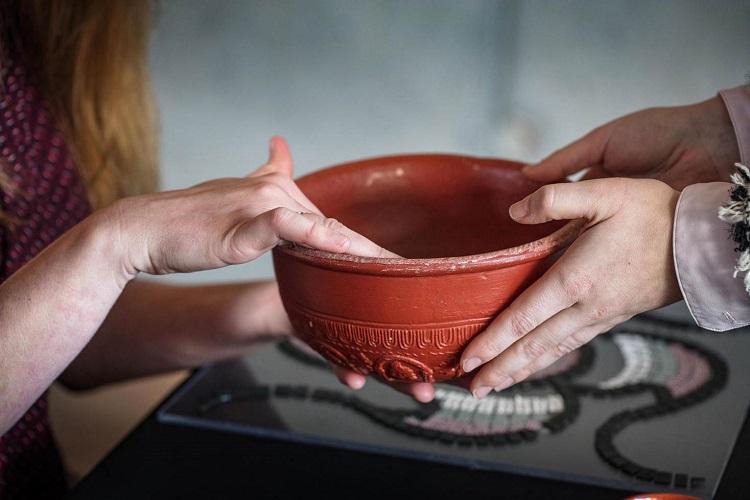 Gallo Romeins Museum cultuur voor blinden en slechtzienden