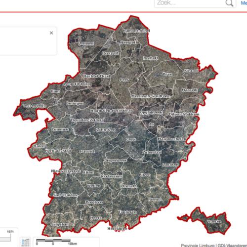 Geoloket provincie Limburg