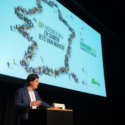 Voorzitter van Toerisme Limburg, Igor Philtjens