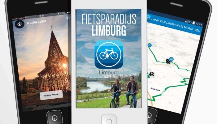 Limburg Fietsparadijs-app