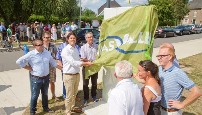 Opening rivierpark Maasvallei