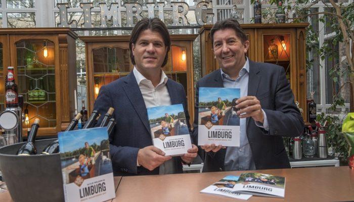 Lancering Derde Limburg Vakantiegids in gouverneurswoning