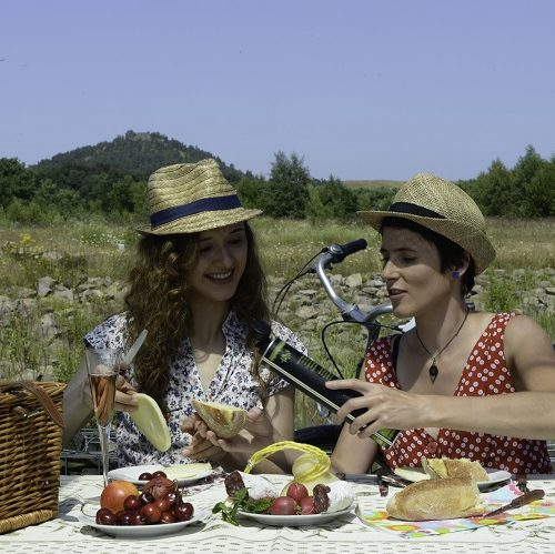 picnick toeristen terrill