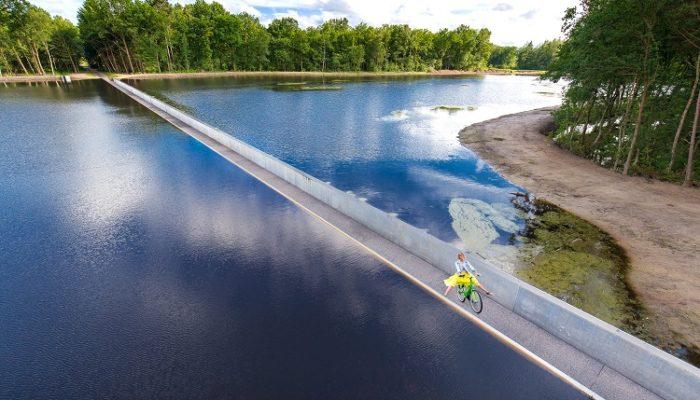 water fietsen